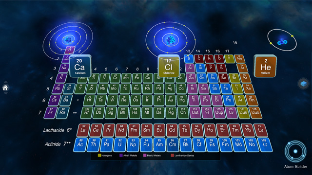 zSpace Curie's Elements
