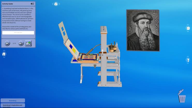 Gutenberg's Inspiration and Innovation
