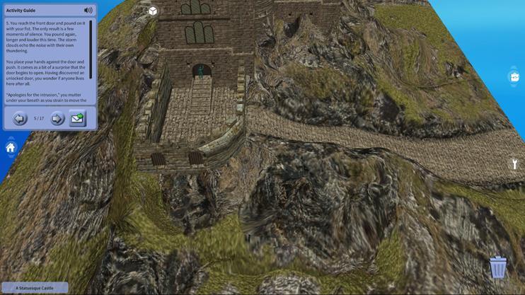 A Statuesque Castle