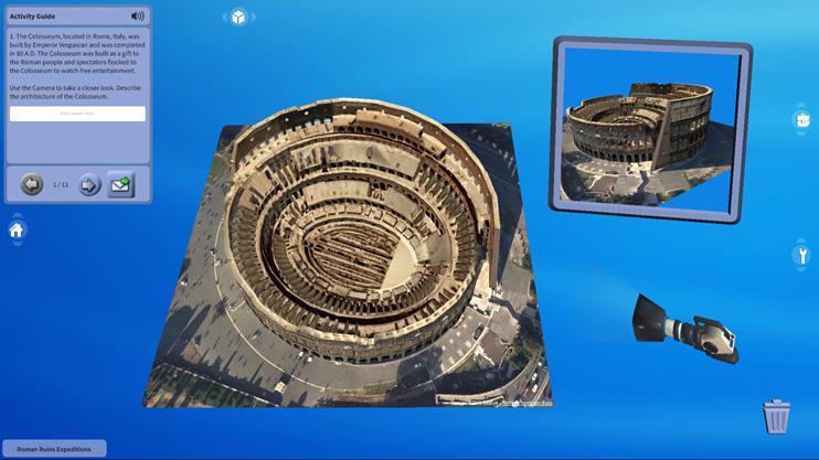 로마 유적 탐험