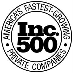Inc. 500 List of America's Fastest-Growing Private Companies