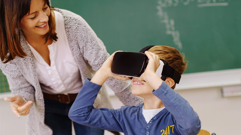 Will Headset VR Ever have a Place in the Classroom?